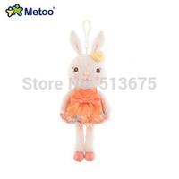 Free Shipping 2014  New Metoo Mini tiramisu rabbit plush toy doll doll bag 30cm pendant cute doll super children gifts