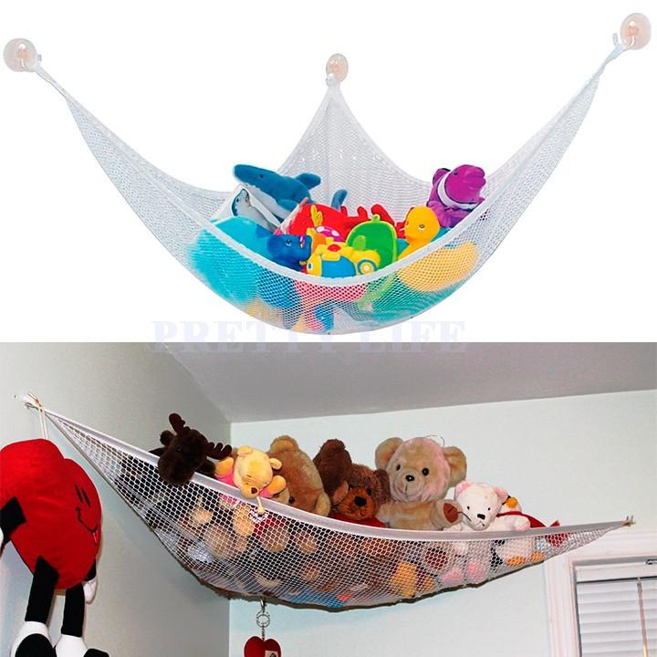Low price wholesale Kids Room Jumbo Toy Hammock 4.7 Feet Net Organizer Stuffed Doll Animals Storage free shipping#10 12(China (Mainland))