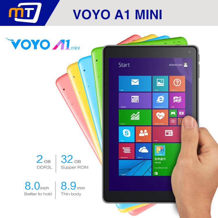 Voyo winpad a1 mini intel z3735d 64 peu sla4k win8 tablet pc 8 pouces écran ips 1280x800 2g ram. 32gb double caméras bluetooth hdmi
