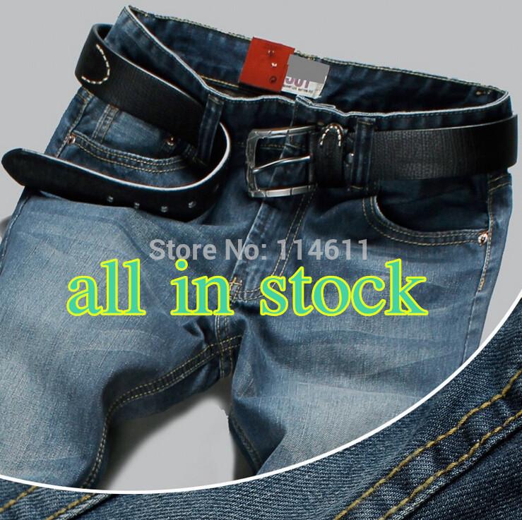 Europei e americani marchio di moda i produttori di fama uomini jeans a vita icona jeans di cotone degli uomini pantaloni jeans jeans 501 29-40