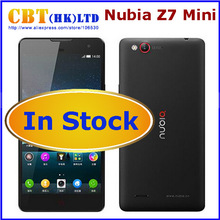 "Original ZTE Nubia Z7 mini Z7mini 4G LTE Qualcomm MSM8974AA 2.0GHz 5.0"" FHD 1920x1080 2GB RAM 16GB 13.0MP Camera WCDMA Dual SIM(Hong Kong)"