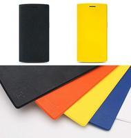 100% Original oneplus one flip case original oneplus one cover original flipcase For oneplus one plus one original OPO 1+1 case