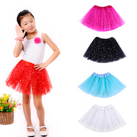 2015 New Arrival Fashion Girls Baby Tutu Skirt Princess Tutus Skirt Girls Fluffy Pettiskirts Baby Skirt Tutu Girl 2y-8y 6 Colors