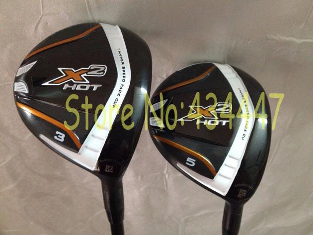 клюшка для гольфа X2 hot X 2 3# 5# fleX 2 клюшка для гольфа nike 2 0 vrs
