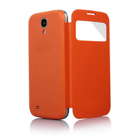 Original Window Sleep Function Flip Cover Back leather Case Battery Housing Case for Samsung Galaxy S4 SIV S 4 i9500 9500