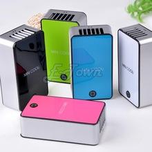 New arrival Cool Mini Fan Cooling Portable USB Rechargeable Hand Held Air Conditioner Summer Cooler Free Shopping #2 SV006378(China (Mainland))