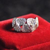 Beauty wavy lines wowen's ring wedding accessories ALW1749 Jewellery wokshops supplies