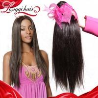 6a Unprocessed Malaysian Virgin Hair Straight Human Hair Weave, Virgin Malaysian Straight Hair Extension 4PCS Lot LQMST004