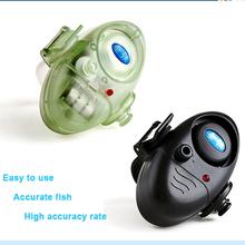 2014 hot Electronic fishing noctilucous Fish finder Sound Bite Finder Alarm LED Light Alert Bell Clip On Fishing Rod (China (Mainland))