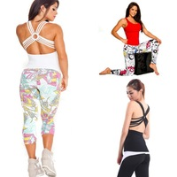 New Fashion Elastic Women Sporting Vest WithTapes And Ring Decoration Behind Gym Fitness Sexy Tank Cotton New Arrival