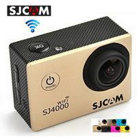 Real Original SJ4000 WIFI Action Helmel Camera with SJCAM Logo 30M Underwater Sport Camera Sport DV Gopro style