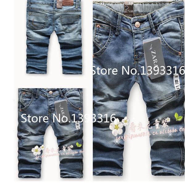 Haute qualité nouveau détail, enfants,'s de jeans en coton denim jeans enfants garçons et filles pantalons bébé pantalons, 2/3t 3/4t 4/5t 5/6t 7/8t 9/10t