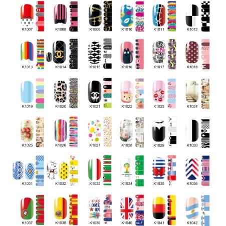 spedizione gratuita 2014 3d nuovo stile fashion design donne chiodo chiodo chiodo sticker art decalcomania mix di colori