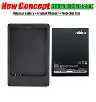 In Stock  Nibiru H1 Original battery Nibiru H1c Original battery   Original battery +Original charger +Protector film  pack