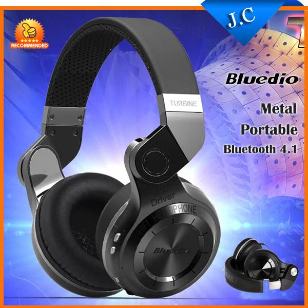 Original Bluedio 57mm Powerful Bass Stereo Bluetooth V4.1 Wireless Headphone Bulit-in Microphone Noise Isolating Headset(China (Mainland))