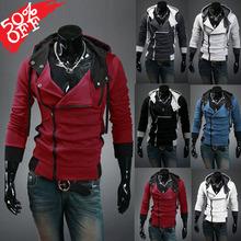Envío rápido 2014 regulares Ropa Hot Styles Venta Nueva Moda para hombres otoño y el invierno de la rebeca coreana con capucha de la chaqueta de xxxxl(China (Mainland))