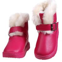 Children Shoes Girls Boots Kids Shoe Boys Girl Boots Children 2015 Winter Leather Snow Boot Waterproof Children's Winter Boots