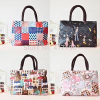 2 Rooms Multi-Purpose Simple,Elegant Waterproof Polyester Handbag Q0005 For Lady or Kids, Free Shipping