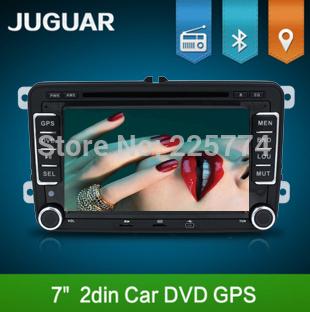 2Din GPS Navi Universal Car DVD Player For VW TIGUAN GOLF POLO PASSAT JETTA TOURAN CADDY WITH USB/SD HD TV Radio Camera car pc(China (Mainland))