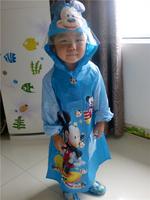 Best quality baby raincoat soft and carton rain coat  child raincoat kids rainwear