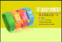 Christmas gift  fashion 64gb pen drive usb 2.0 u disk 64 GB usb flash drive 32gb 16gb 8gb multifunctional  watch wrist pendrive
