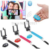 Selfie Rotary Extendable Handheld Camera Tripod Mobile Phone Monopod+ Wireless Bluetooth Remote shutter