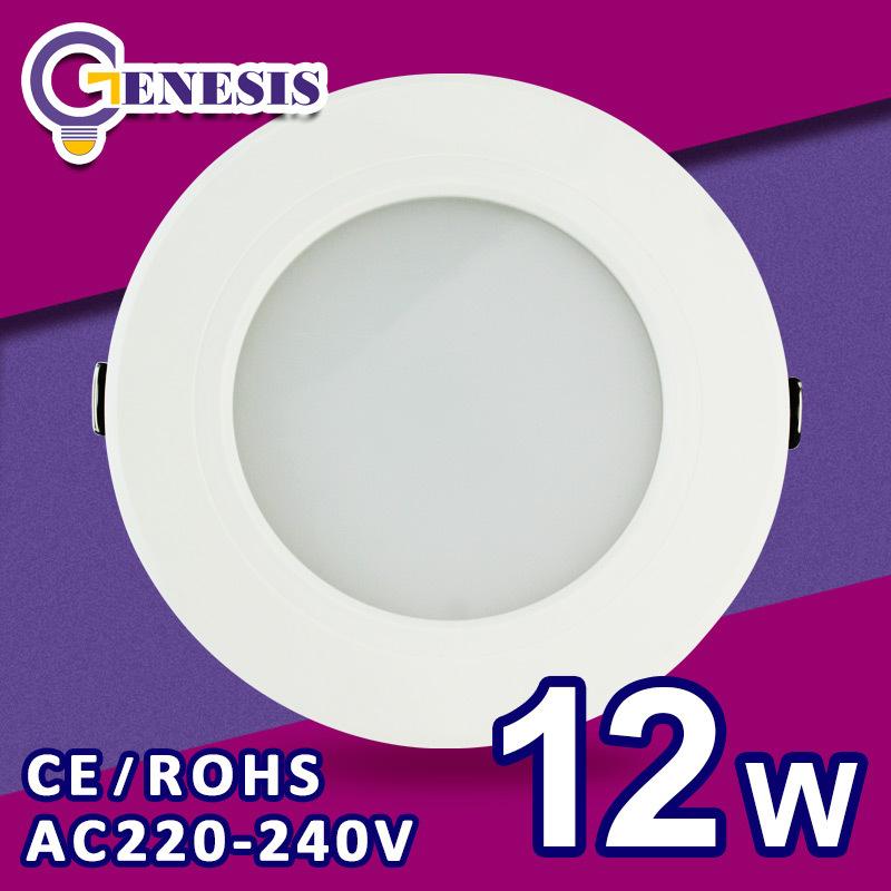 LED Ceiling light SMD 2835 5w 7w 9w 12w 220v 240v for bed room living room kitchen foyer study lamp(China (Mainland))