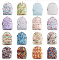 free shipping Flower Print Women Retro Floral bag backpack schoolbag Travel bookbag canvas Campus laptop bag female bag bagpack
