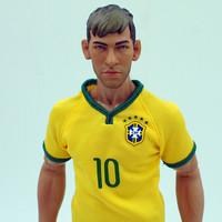 KODOXO 1/6 Doll10# NEYMAR (BRA) x 2pcs Wholesale (Global Free shipping)