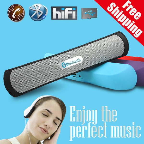 Portable HiFi wireless Bluetooth portable pill Speaker TF Card MP3 Player Mobile Phone Handfree Mic Stereo Audio mini Speaker()
