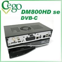 DM800se 1pc DVB-C  SIM2.10 800HD se DM800 hd  satellite receiver Enigma2