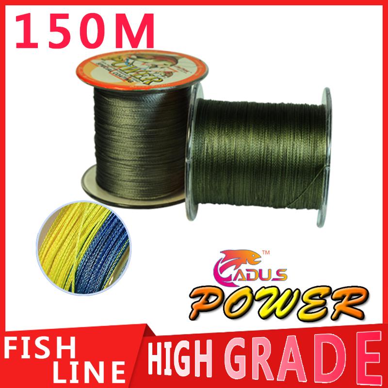 150M Power Brand Extreme Strong Braid Fishing Line PE Multifilament 10LB 20LB 25LB 30LB 40LB 50LB 60LB 80LB 100LB(China (Mainland))