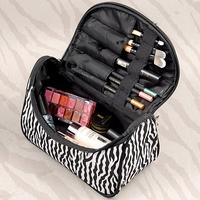 Sales Leopard Cosmetic Bags Makeup Organizer Necessaries Suitcases Bag Toiletries Travel Bag Make Up  Maleta De Maquiagem Y5497