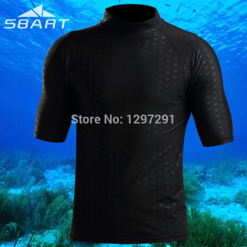 SBART Fashion Rash Guard Men UPF50+ Surf guard Men high quality swimear snorkeling suit long sleeve rash guard(China (Mainland))