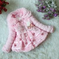 New Winter Jackets For Girls Winter Coat Children baby Clothing Kids Girls Winter Coats And Jackets children Outerwear B16 18908