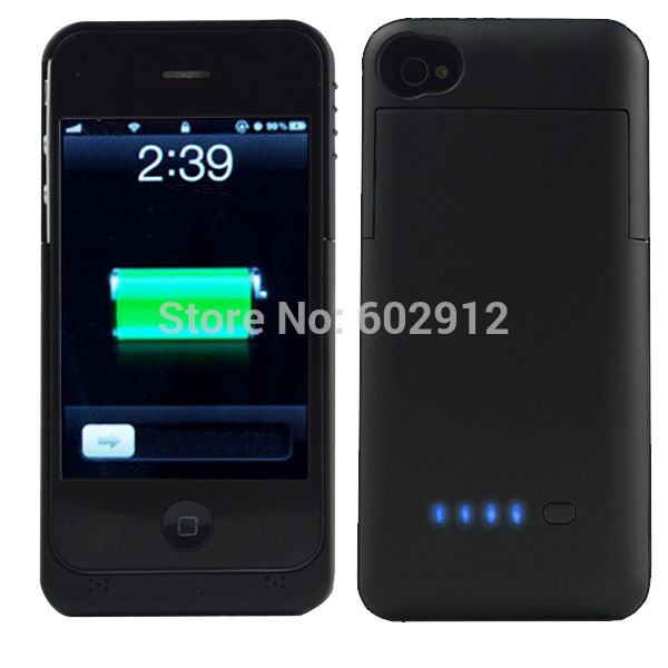 3200mAh & 2200mAh Rechargeable Backup External Battery Charger Power Bank Powerbank Case Cover for iPhone 4 4G 4S 5 5G 5S 5C(China (Mainland))