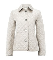 2014 New Women Autumn Winter Jacket Long Sleeve single Breasted Wadded Parkas Cotton Quilted Jacket Coat b4 SV007329