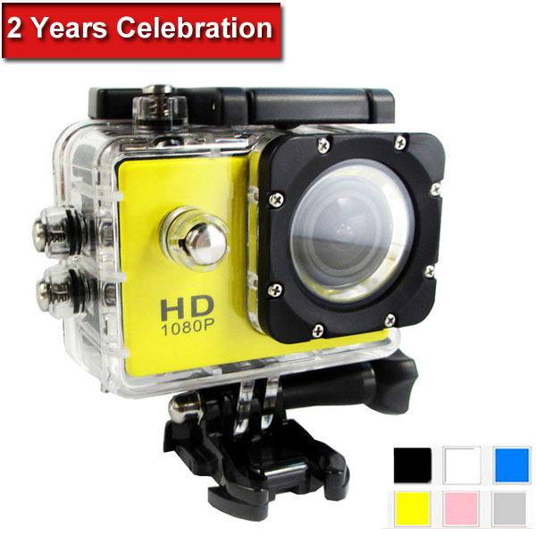 MD4000 Mini Camcorders Action Camera Full HD DVR Sport DV 1080P Waterproof 1.5 inch G Senor Motor DV 170 Wide Angle EU plug(China (Mainland))