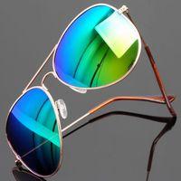Oculos De Sol Masculino Classic 3025 Colorful Unisex Sunglasses Polarized Coating Factory Direct free Shipping Fashion Models