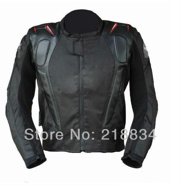 FREE SHIPPING Motorcycle jacket racing jacket motorcycle racing suits send 5pcs/set protective gear(China (Mainland))