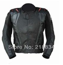 Entrega gratuita chaqueta motocicleta de carreras chaqueta moto racing trajes enviar 5 unids/set equipo de protección(China (Mainland))