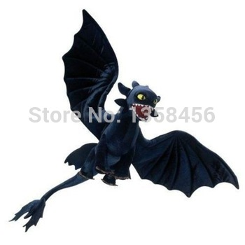 Горячая распродажа аниме как приручить дракона 2 плюшевые игрушки темно-синий беззубый ночь ярости куклы Brinquedos Meninos игрушки для детей