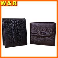 2014 wallet famous purse fashion brand men wallets famous purses crocodile head genuine leather wallet brand wallet purses 8038A