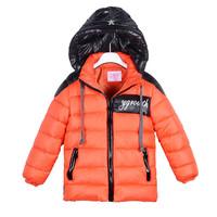 Lasted Children Winter Outwaer Kids Boys Coat Nature Cotton Baby Warm Jacket&Coat Clothing 1pcs Free Shipping TDY-1406