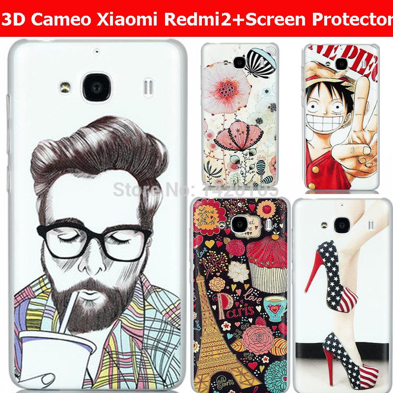 Чехол для для мобильных телефонов Case xiaomi redmi 2 3D Xiaomi Redmi 2 Xiaomi 2 чехол для для мобильных телефонов 3d m