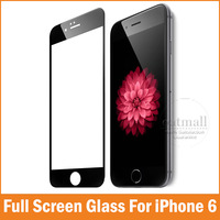 New 0.26mm Full Screen Protection Tempered Glass For Apple iPhone 6 Screen Protector Film 4.7 inch 9H Hardness Explosion Proof