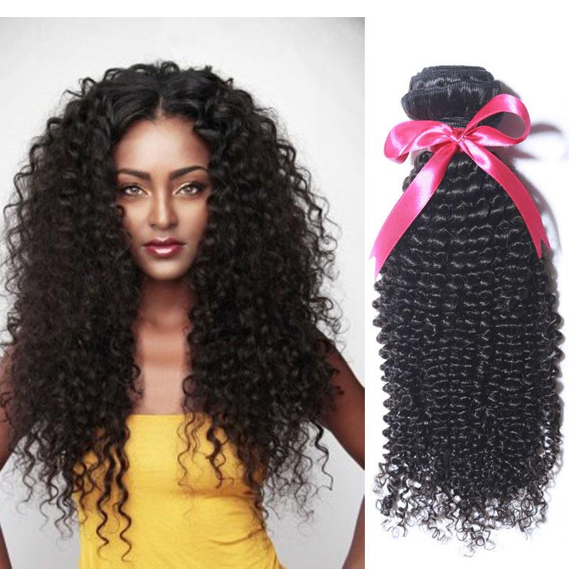 Hair Bundle Deals 3 Malaysian Curly Hair Kinky Curly Weave Human Hair ...