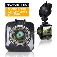 2014 New G55 Mini Car DVR Camera Video Recorder Full HD 1080P 170 Degree Novatek 96650 Advanced WDR Car Stamp Plate H.264 OT25