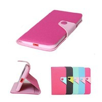 Free screen protector! 6 colors huawei ascend G700 case wallet design+card slot PU leather cover for huawei ascend G700