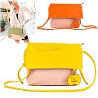 Bolsas Femininas 2014 Fashion Shoulder Women Leather Handbags Cross Body Candy Color Bag Women Messenger Bags SV22